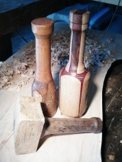 Handmade Wooden Mallet