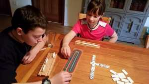 Domino game sniff