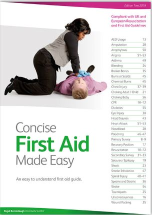Concise First Aid made easy book