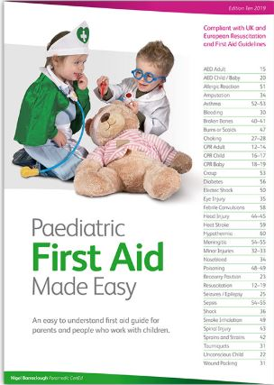 Paediatric First Aid made easy book
