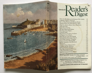 Readers Digest Artwork by Ronald Lampitt