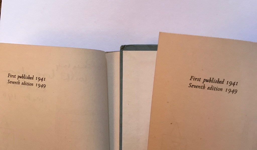 Two old copies of Smoke and Fluff