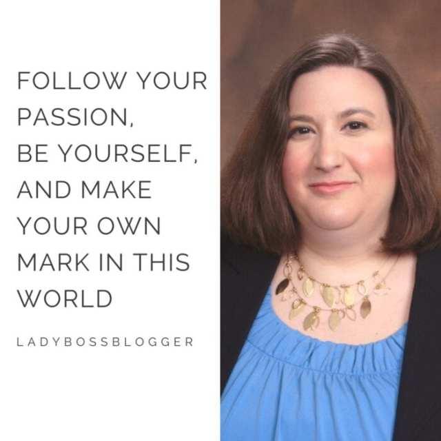 Female entrepreneur lady boss blogger Valerie Martinelli