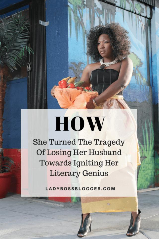 Female entrepreneur lady boss blogger QueenKay