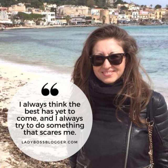 Female entrepreneur ladybossblogger Maristella Colombo marketing to grow fashion business