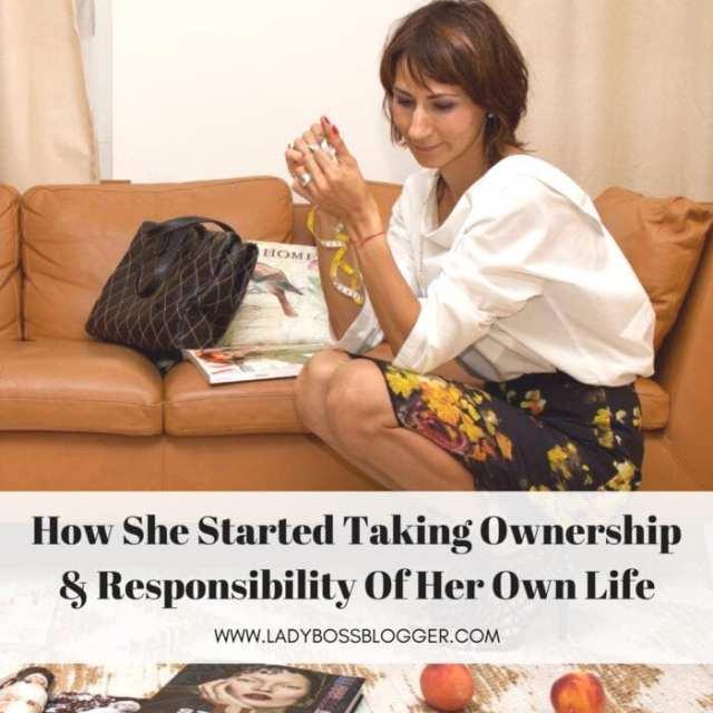 Female entrepreneur lady boss blogger Tsitaliya Mircheva online magazine