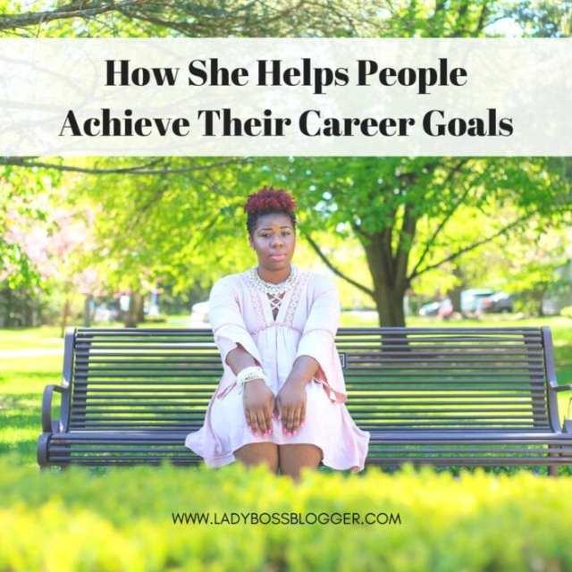Female entrepreneur lady boss blogger Tiara Jones career development