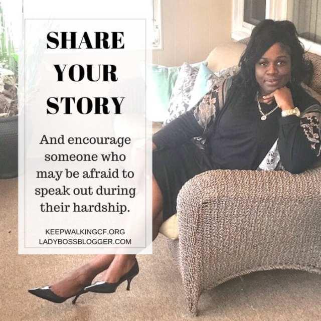 Female entrepreneur lady boss blogger Carlita Singletary christian motivational speaker