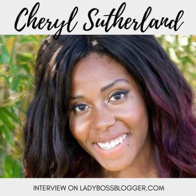 Female entrepreneur lady boss blogger Cheryl Sutherland affirmations life coach