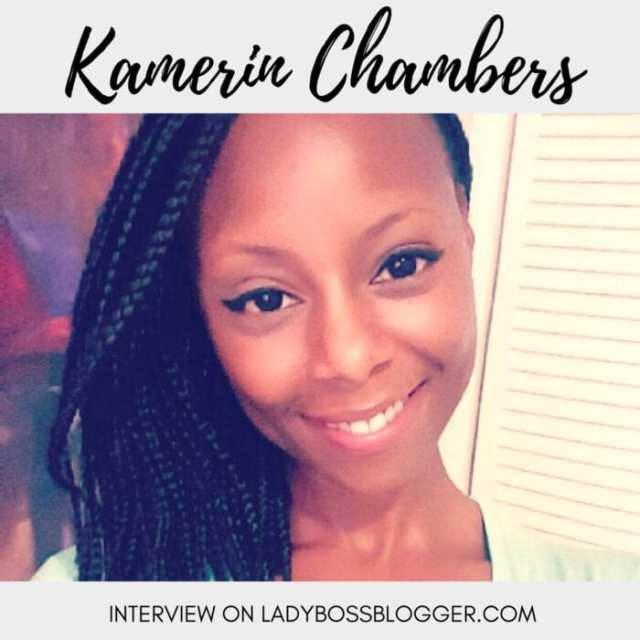 Female entrepreneur lady boss blogger Kamerin Chambers travel blogger