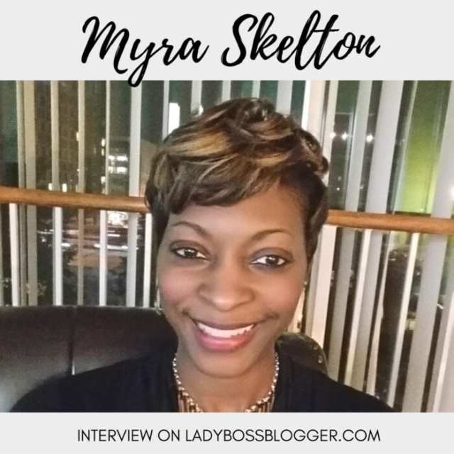 Female entrepreneur lady boss blogger Myra Skelton fashion jewelry line