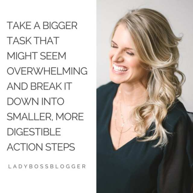 Female entrepreneur lady boss blogger Andrea Levoff speaker and life coach