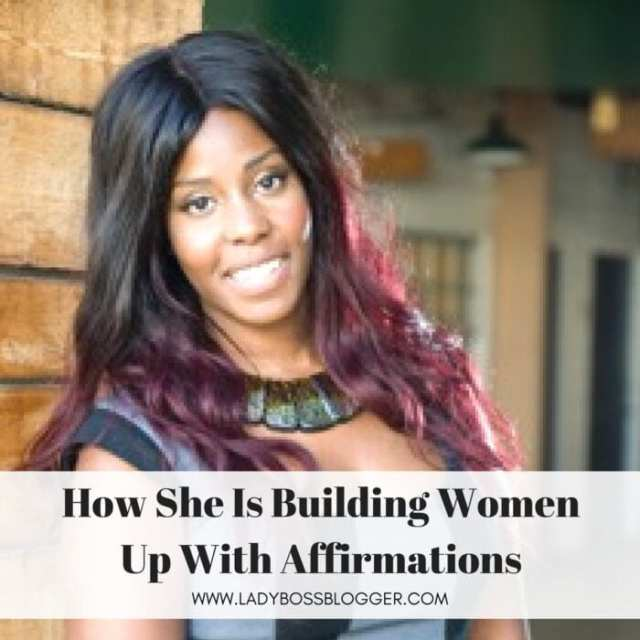 Female entrepreneur lady boss blogger Cheryl Sutherland affirmations life coach