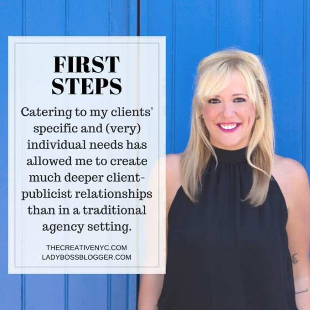 Female entrepreneur lady boss blogger Caitlin Shockley branding marketing public relations strategies