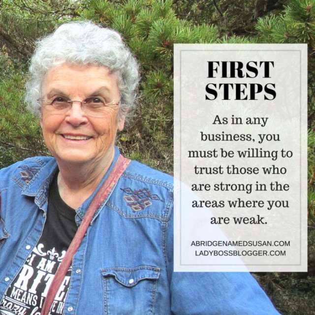 Female entrepreneur lady boss blogger Sharon Hoseley author