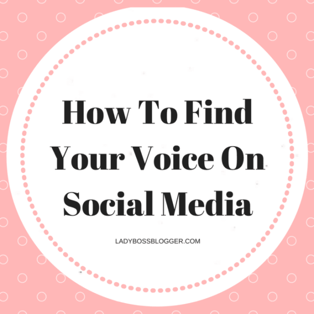 Entrepreneurial resources by female entrepreneurs on ladybossblogger How To Find Your Voice On Social Media