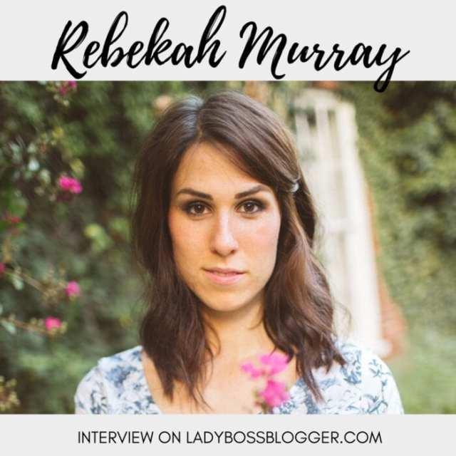 Female entrepreneur lady boss blogger Rebekah Murray online fashion store