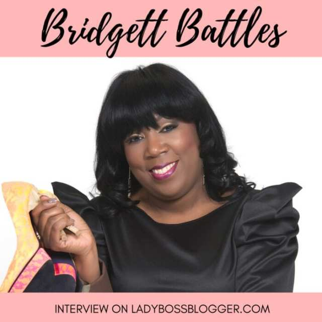 Bridgett Battles Female entrepreneur lady boss blogger fashion and image consultant