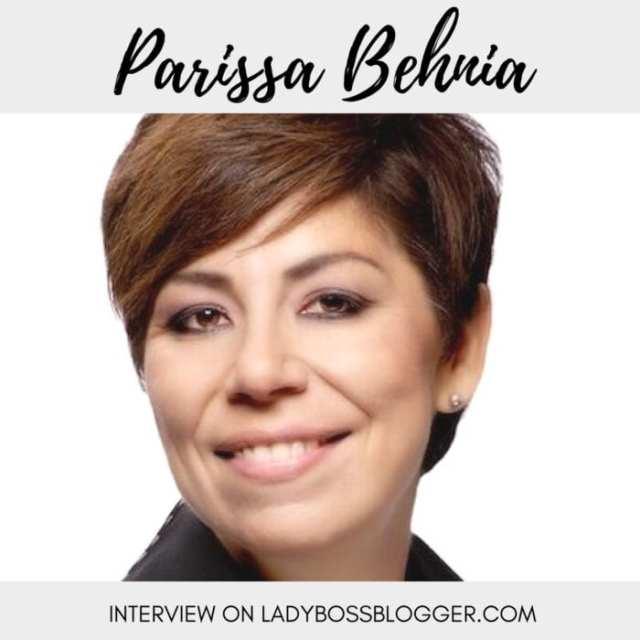 Female entrepreneur lady boss blogger Parissa Behnia business coach on empathy