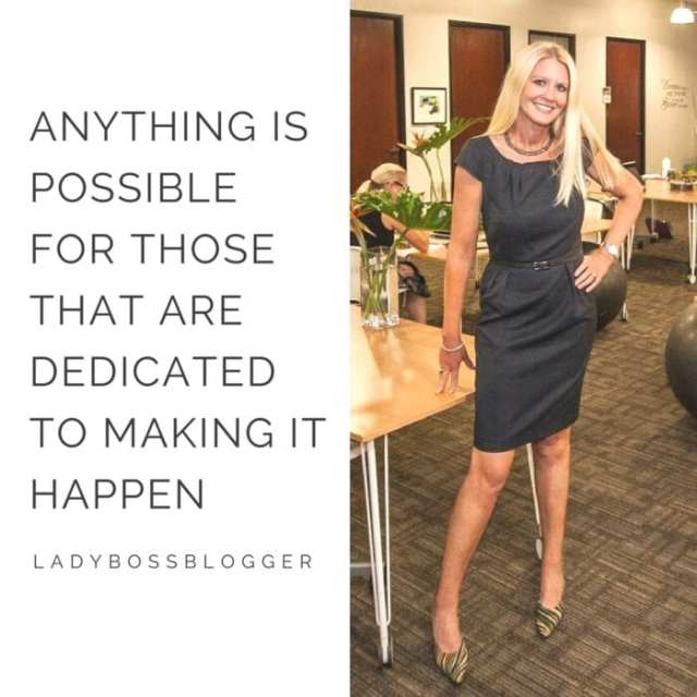 Female entrepreneur lady boss blogger FelenaHanson coworking space