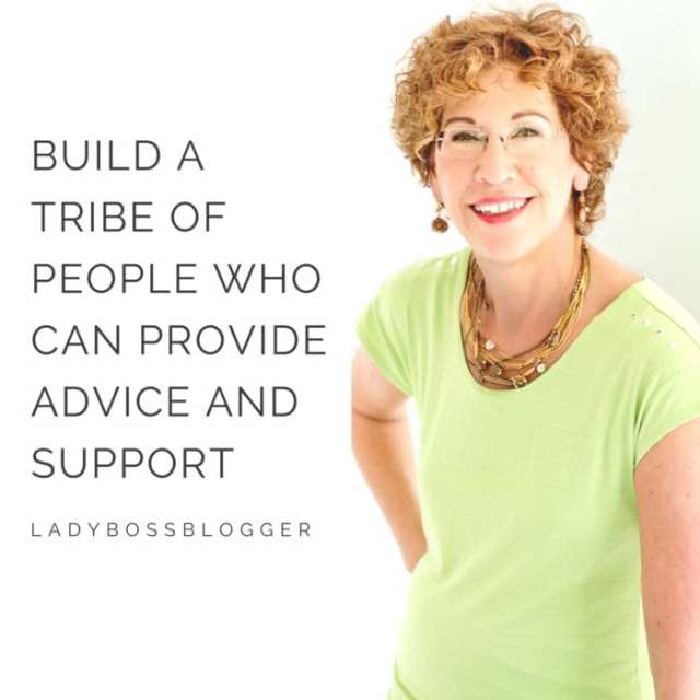Female entrepreneur lady boss blogger Andrea Cole career coach