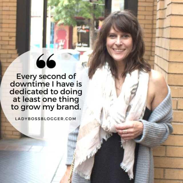 Female entrepreneur lady boss blogger Krysia Hepatica  blogger