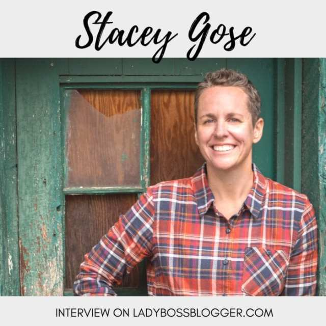 Female entrepreneur lady boss blogger Stacey Gose Women's Workwear