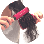Brush Straightener v.s. Regular Straightener REVIEW ON LADYBOSSBLOGGER