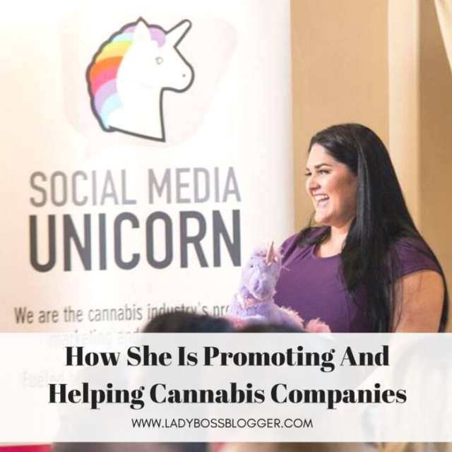 Female entrepreneur lady boss blogger Krista Whitley cannabis industry