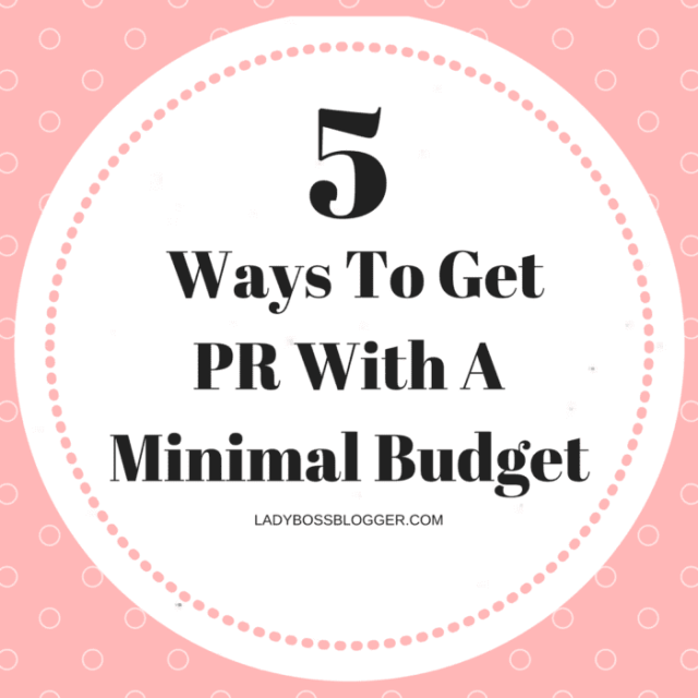 Entrepreneurial resources by female entrepreneurs written by Cristy Brusoe 5 Ways To Get PR With A Minimal Budget