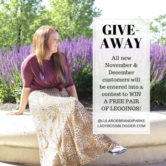 Female entrepreneur lady boss blogger Brandi Parke Lularoe fashion consultant