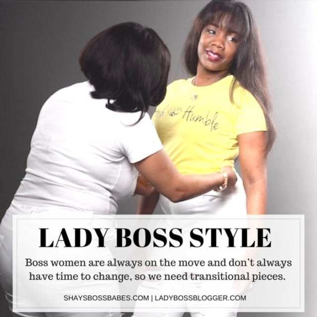 Female entrepreneur lady boss blogger Shalay Pierce Fashion Stylist and Makeup Artist