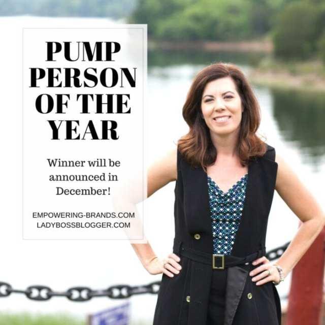 Female entrepreneur lady boss blogger Charli Matthews Global Pump Industry