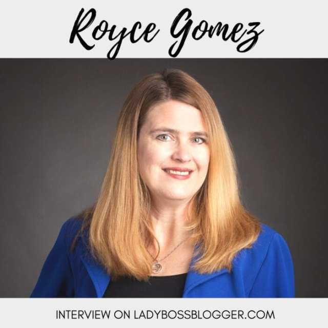 Female entrepreneur lady boss blogger Royce Gomez coach and mentor