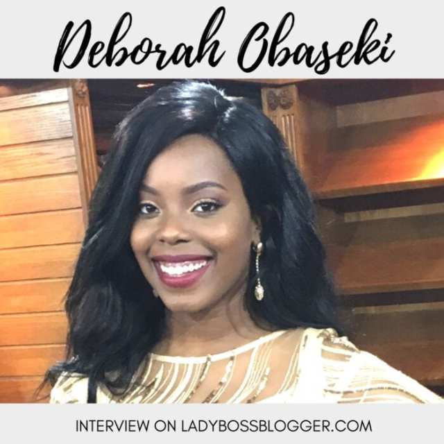 Female entrepreneur lady boss blogger Deborah Obaseki women in the workplace