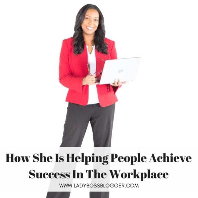 Female entrepreneur lady boss blogger Christina Alva career coach