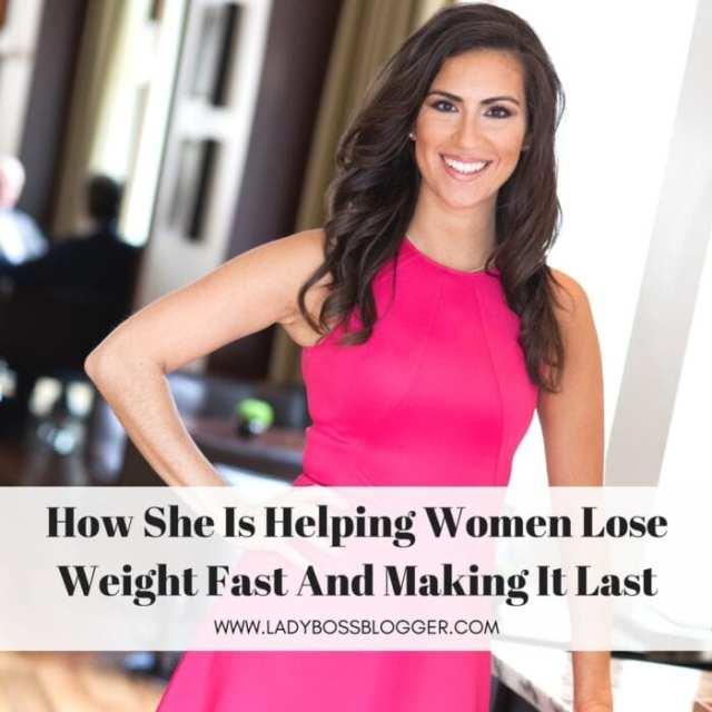 Female entrepreneur lady boss blogger Stephanie Mansour Health and FItness Coach