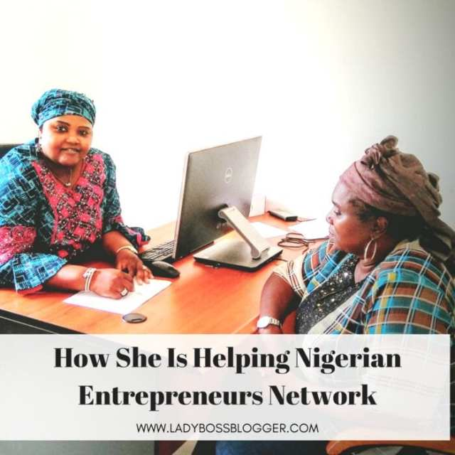 Female entrepreneur lady boss blogger Sa'adatu Abdullahi Business Women Networking in Nigeria
