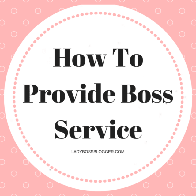 Entrepreneur resources and tips by female entrepreneurs written by Christina Alva How To Provide Boss Service