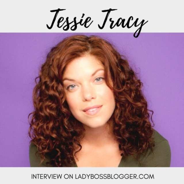 Female entrepreneur interview on ladybossblogger Tessie Tracy online fitness and health coach