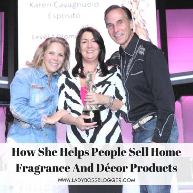 Female entrepreneur interview on ladybossblogger Karen Esposito direct sales consultant for Pink Zebra