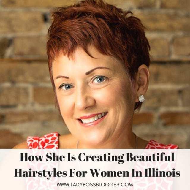 Female entrepreneur interview on ladybossblogger Lauren Cassidy hair stylist