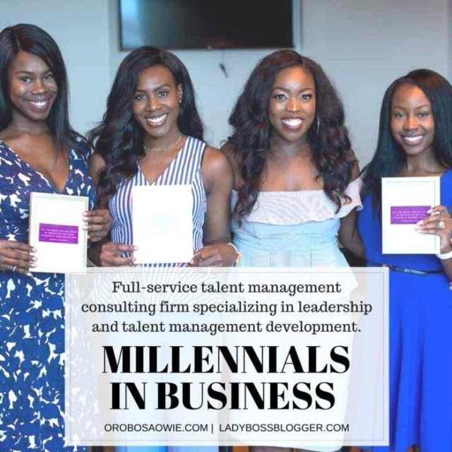 Female entrepreneur interview on ladybossblogger featuring Orobosa Owie Millennials in Business