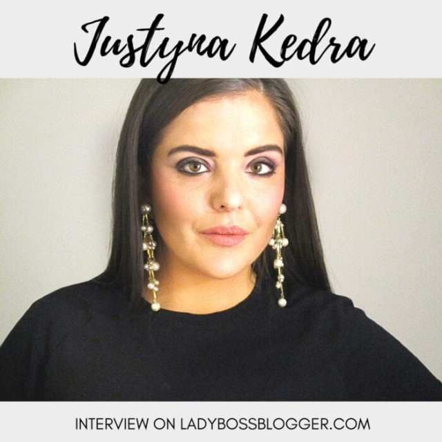 Female entrepreneur Interview on ladybossblogger Justyna Kedra