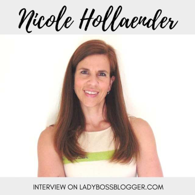 Female entrepreneur interview on ladybossblogger featuring Nicole Hollaender Prevents Women From Falling Back On Their Old Habits In Dealing With Their Health And Weight