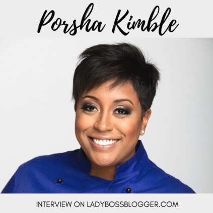 How To Build A Credible Blog And Stand Out From The Rest Porsha Kimble The Cake Diva home baking queen