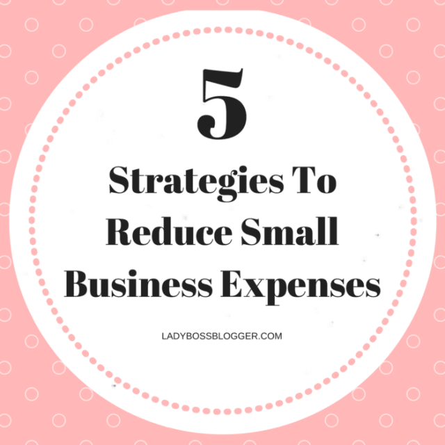 5 Strategies To Reduce Small Business Expenses written by Honey N Fox5 Strategies To Reduce Small Business Expenses written by Honey N Fox