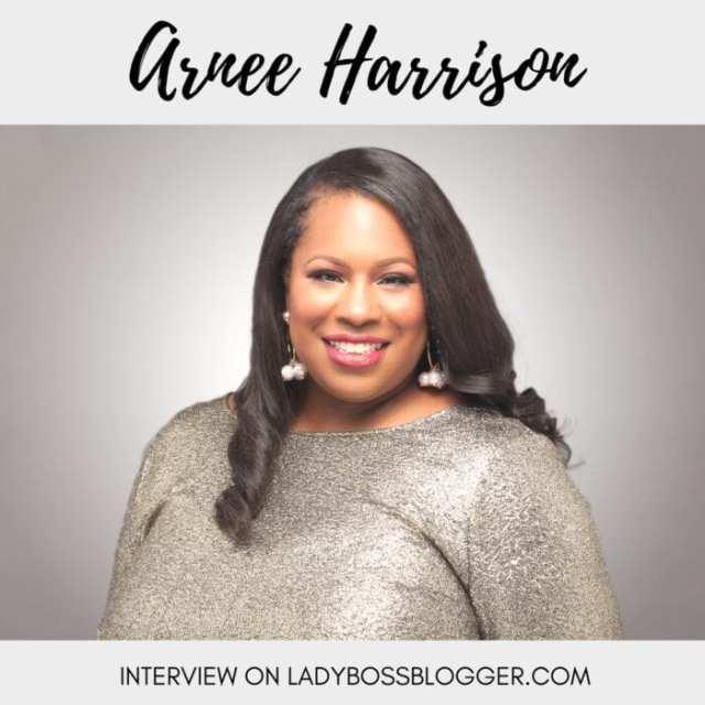 Female entrepreneur Interview on ladybossblogger Arnee' Harrison