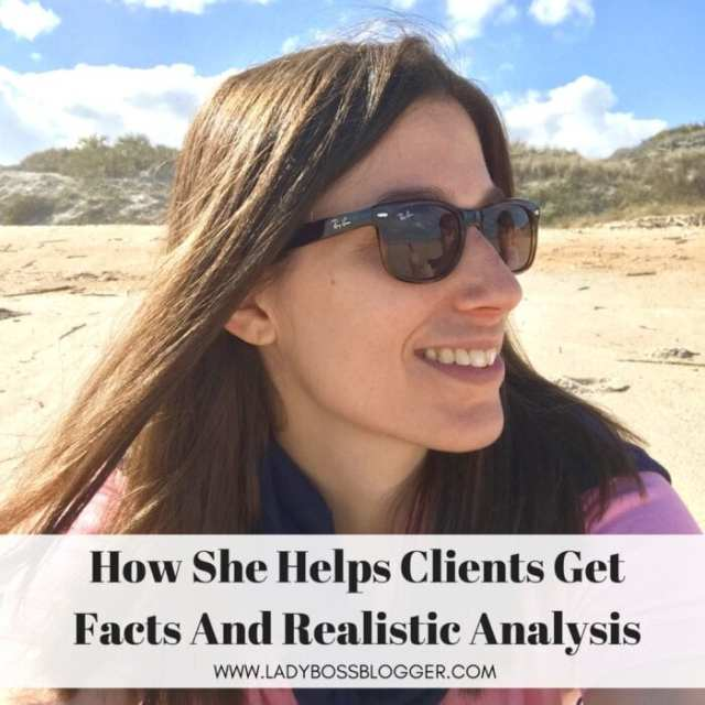 Ellen Wald Helps Her Clients Get Facts And Realistic Analysis