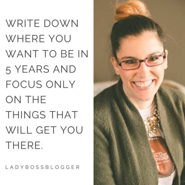 female entrepreneur and business tips on ladybossblogger